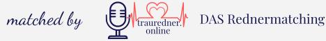 matched by trauredner.online - Das Rednermatching